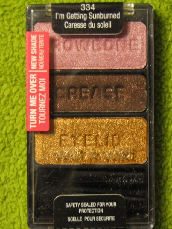 Wet 'n' Wild Color Icon Trio - I'm Getting Sunburned