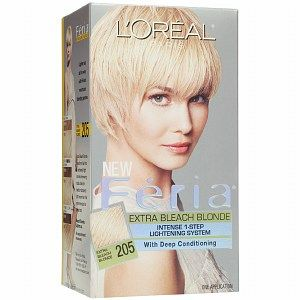 L'Oreal Feria Intense Extra Bleach Blonde #205