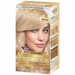L'Oreal Preference Light Ash Blonde 9A