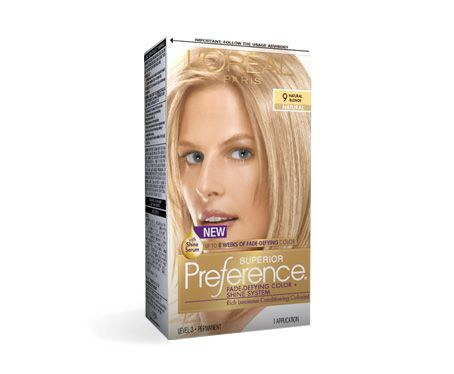L Oreal Preference Natural Blonde 9 Reviews Photo