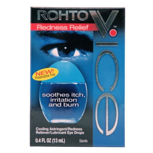Rohto V - ICE Redness Relief Lubricant Eye Drops
