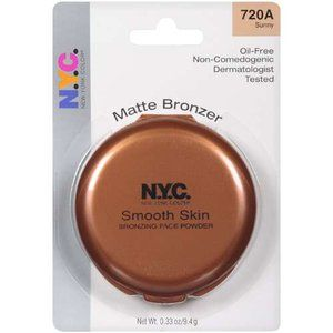 New York Color Smooth and Natural Matte Powder Bronzer