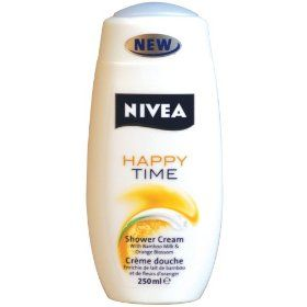 Nivea Happy Time Cream Shower Bamboo Milk & Orange Blossom
