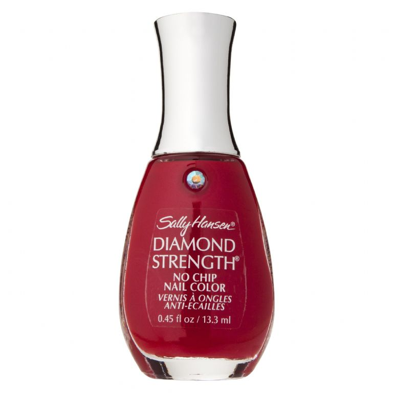 Sally Hansen Diamond Strength - Honeymoon Red