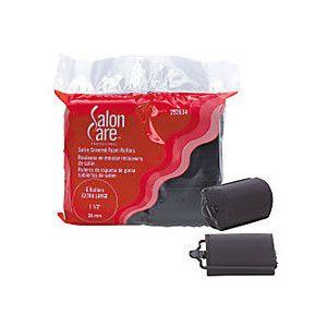 Salon Care Satin Foam Rollers