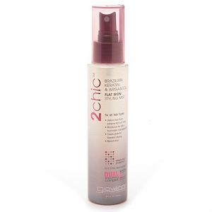 Giovanni 2chic Brazilian Keratin & Argan Oil Flat Iron Styling Mist