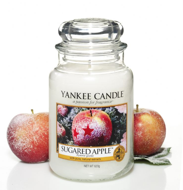 Yankee Candles Sugared Apple