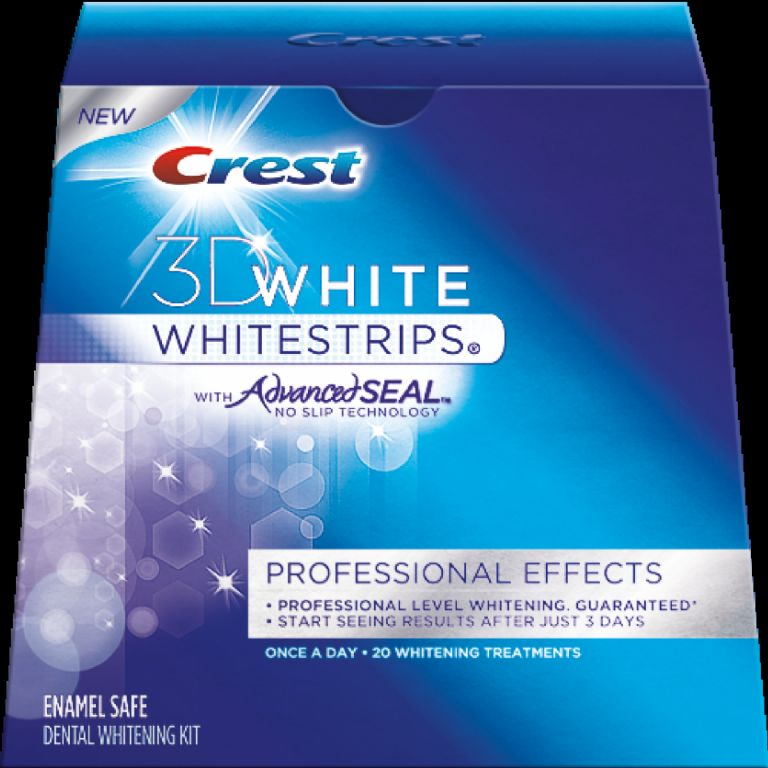 Crest 3D Professional Effects White Strips