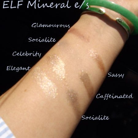 E.L.F. Mineral Eyeshadow in Socialite
