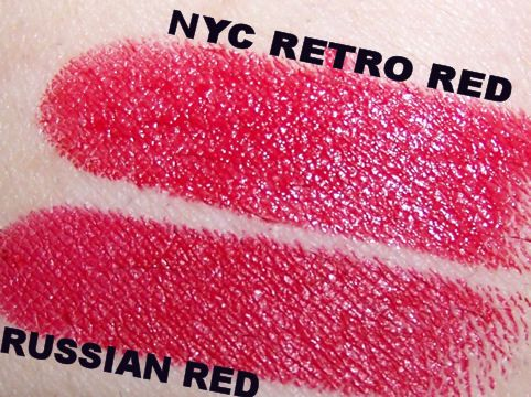 New York Color Ultra Moist Lip Wear Retro Red 308B