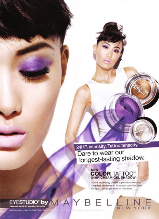 Maybelline Color Tattoo - Painted Purple