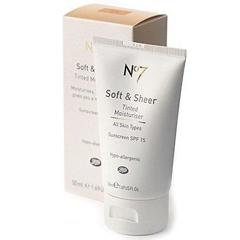 Boots  No7 Soft and Sheer Tinted Moisturiser  [DISCONTINUED]