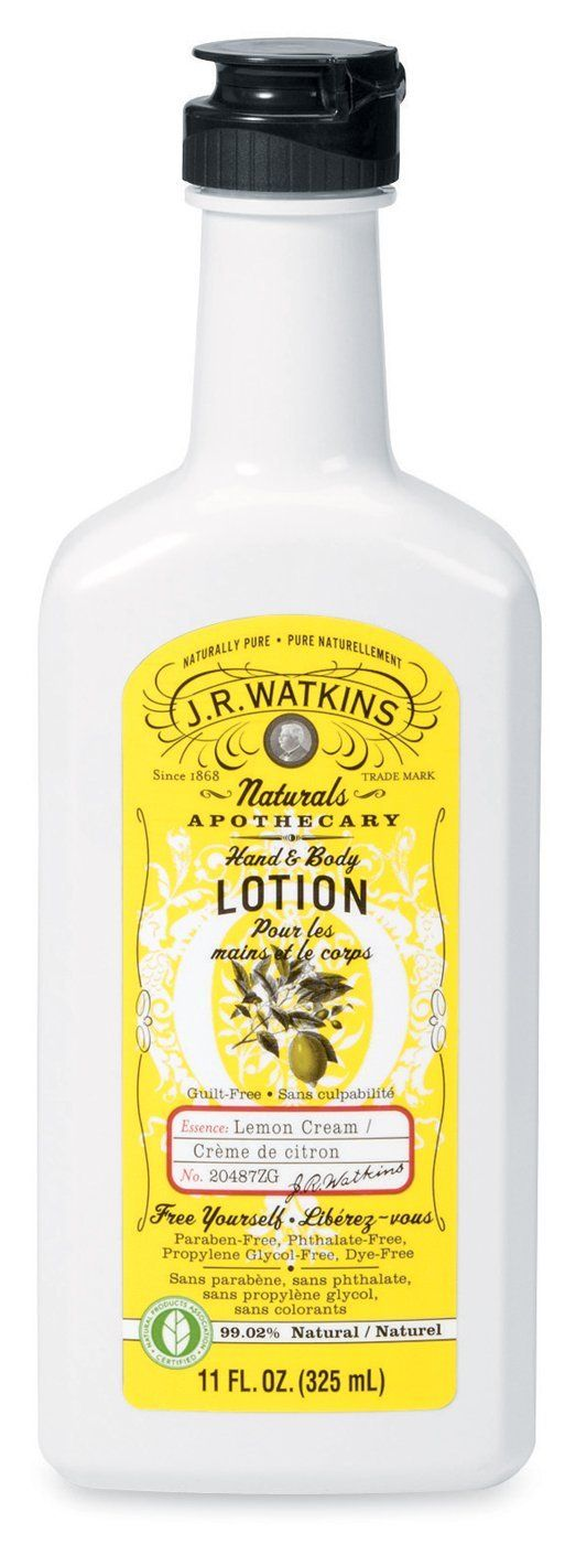 J. R. Watkins Lemon Cream Hand & Body Lotion