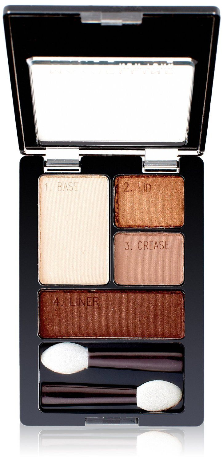 Maybelline ExpertWear Eyeshadow Quad in Chai Latte