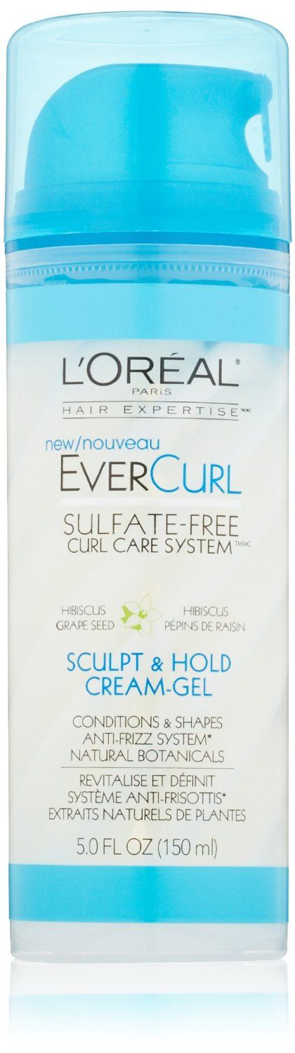 L'Oreal Ever Curl Sculpt & Hold Cream-Gel