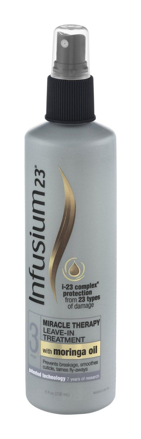 Infusium 23 Miracle Repair leave-in treatment - Step 3