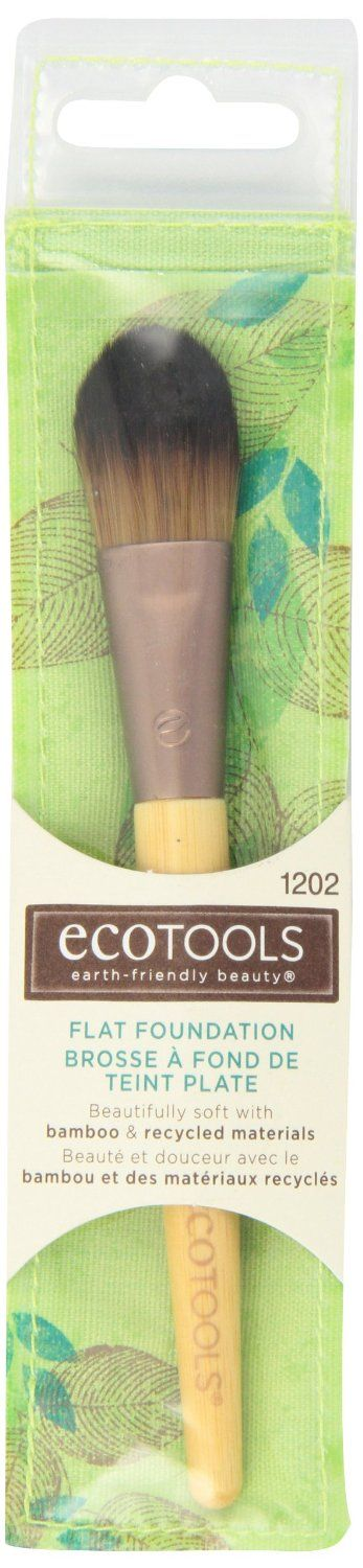 Ecotools  Bamboo Flat Foundation Brush