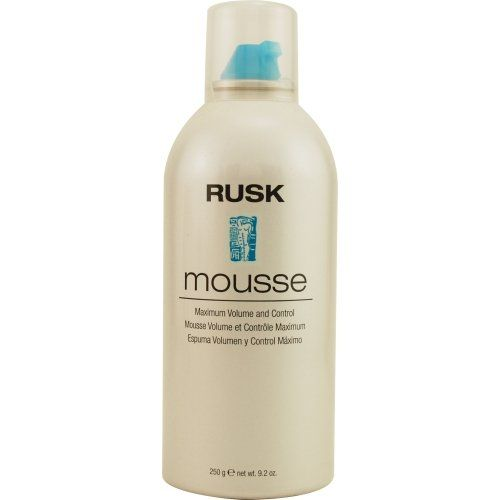 Rusk Mousse - Maximum Volume and Control