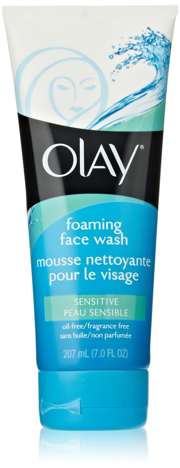 Olay Sensitive Skin Foaming Face Wash