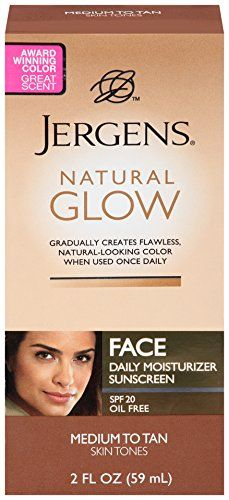 Jergens Natural Glow Healthy Complexion Daily Facial Moisturizer-SPF 20