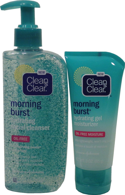 Clean Amp Clear Morning Burst Hydrating Gel Moisturizer