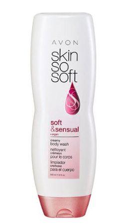 Avon SSS soft & sensual creamy body wash