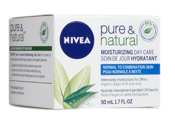Nivea Pure and Natural Moisturizing Day Cream
