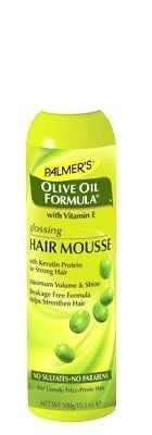 Palmer's Olive oil formula glossing hair mousse