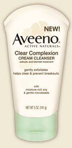 Aveeno Clear Complexion Cream Cleanser
