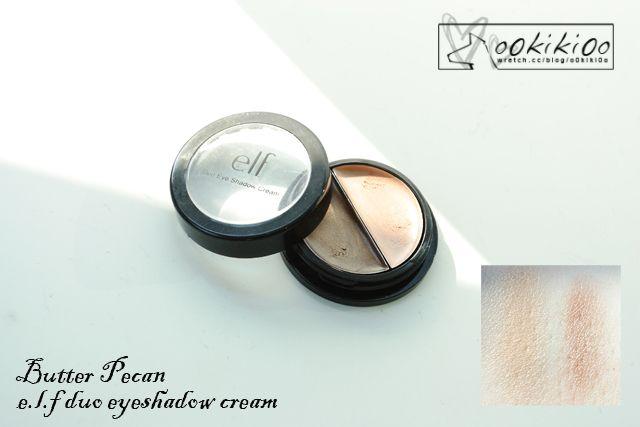 E.L.F. Cream Eyeshadow (duo): Butter Pecan