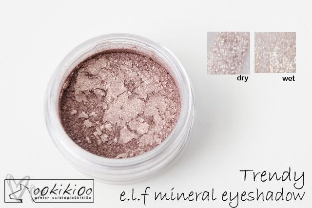 E.L.F. Mineral Eyeshadow in Trendy