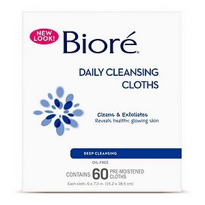 Biore Pore Perfect Cleansing Cloths (from the new line)