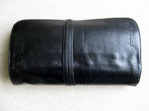 Napoleon Perdis Leather Brush Roll with 22 Brushes (Full)