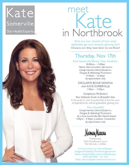 Kate Somerville At Neiman Marcus Northbook