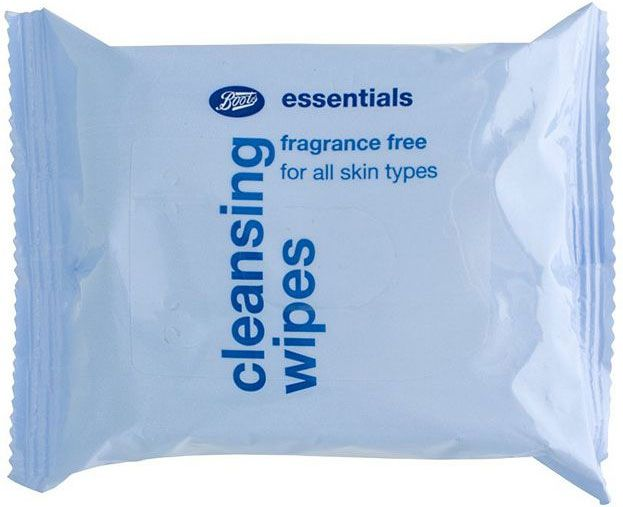 Boots  Fragrance Free Cleansing Wipes