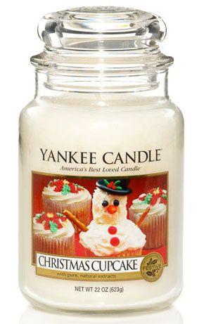 Yankee Candles Christmas Cupcake
