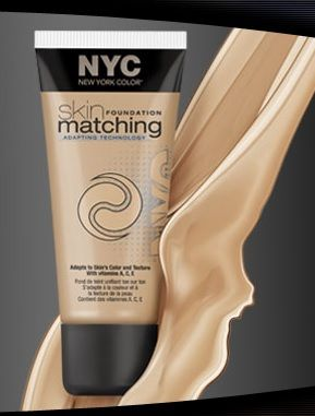 New York Color Skin Matching Foundation
