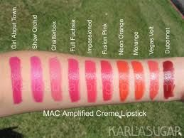MAC Amplified Creme Lipstick