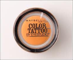 Maybelline Color Tattoo 24hr Cream Gel Shadow in Fierce & Tangy
