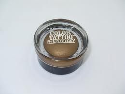 Maybelline Color Tattoo 24hr Cream Gel Shadow in Gold Shimmer