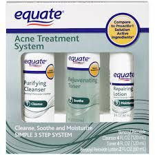 Equate Proactiv 3-step Acne Treatment System