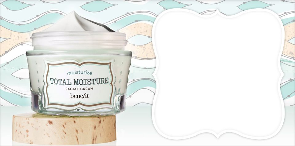 BeneFit Cosmetics b right total moisture facial cream