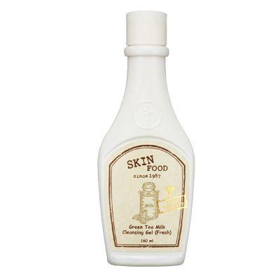 Skinfood Green Tea Milk Cleansing Gel