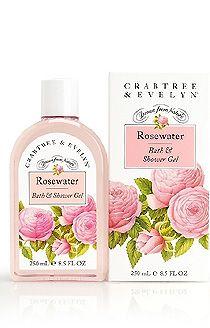 Crabtree & Evelyn Rosewater Bath Gel