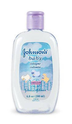 Johnson & Johnson Baby Cologne- Original Blue Bottle