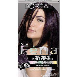 Feria Plum Powerloreal Feria Hair Colour Delivers