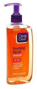 Clean & Clear Oil Free Foaming Facial Cleanser