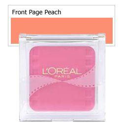 L'Oreal Blush Delice - Front-Page Peach