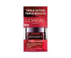 L'Oreal Revitalift Triple Power Deep-Acting Moisturizer