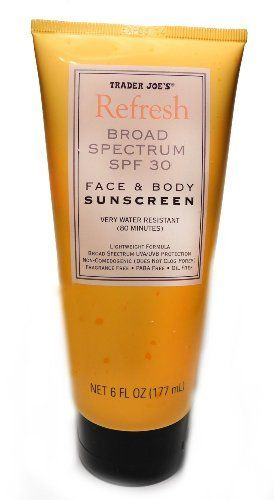 Trader Joe's Face & Body Sunscreen SPF 30